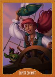 Captain Coconut by tfantoni