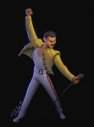 Freddie Mercury by tfantoni