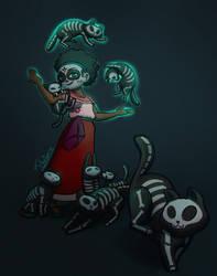 Crazy Cat Lady by tfantoni
