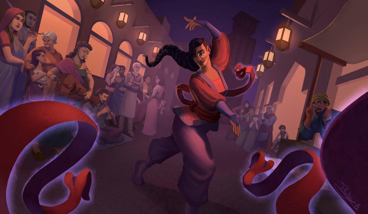 The Dancer by tfantoni