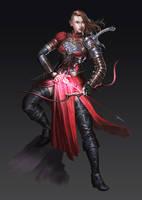 RED ELF by iamagri