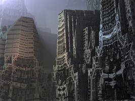Deserted City by eclecticeric