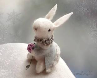 Little victorian bunny by LoveLingz