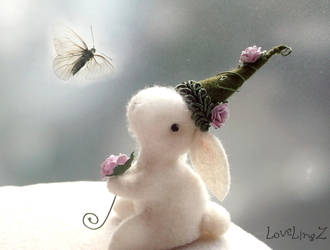 enchanted forest fairy bunny by LoveLingz