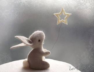 Star bunny by LoveLingz