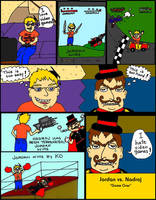 Jordan vs Nadroj (a totally serious) Comic! page 1 by ElementalFact0r74