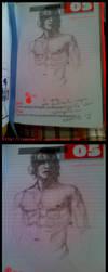 Wip - Boy's diary by camomaiff