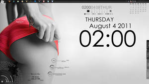 Rainmeter For August by xephshin