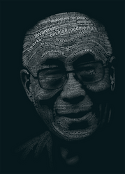 Tribute to the Dalai Lama by yatu-ex