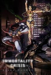 Superman:Immortality Crisis Cv by Adobewan