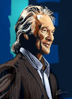 Bill Maher by Adobewan