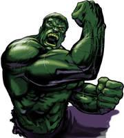 The Hulk by Adobewan