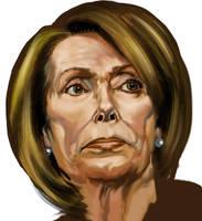 Nancy Pelosi by Adobewan
