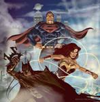 DC Trinity by Adobewan