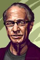 Ray Kurzweil by Adobewan