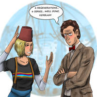 DW : The Doctor Who Waited by Campanita42