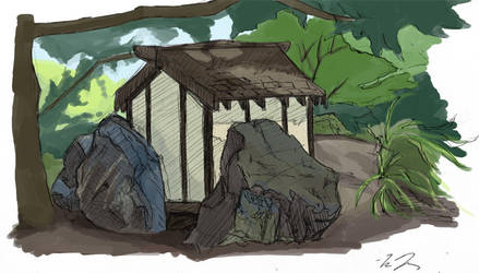 Friendship Park Hut by semblare