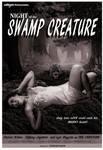 Night of the Swamp Creature Poster by TempusFugitDesign
