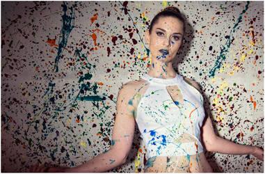 Pollock's Muse by TempusFugitDesign