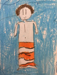 Me as a clownfish merman by Ajallmendinger47