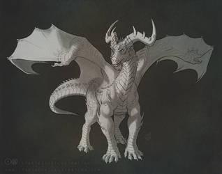 Dragon Sketch by AlexJacob