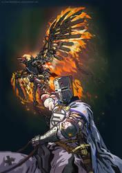 Iron Phoenix by iricolor