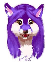 Foxey! by purpurpurr