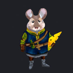 Mr.Mouse by purpurpurr