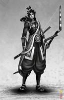 samurai 035 by dinmoney