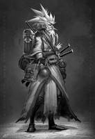 samurai 037 by dinmoney