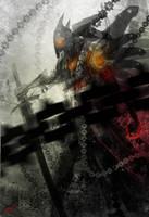 demon soldier speedpaint by dinmoney