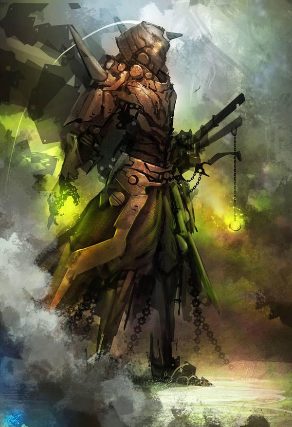 Copper Samurai by dinmoney