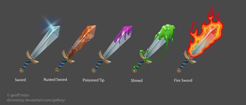 flash concept sword status by dinmoney