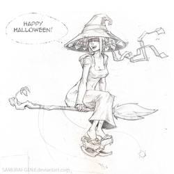 Penelope Halloween by dinmoney