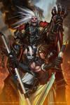 Samurai Genji Cover (no logo) by dinmoney