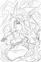 Urumi - Sketch329a by dinmoney