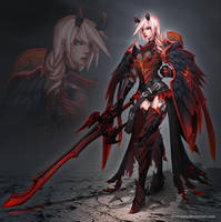 Corrupted Angel Armor by dinmoney