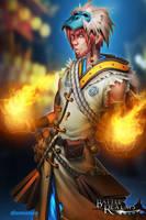 BRL: Fire Mage by dinmoney