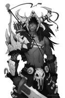 Drago - sketch by dinmoney