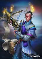 BRL: Heron Clan Hero by dinmoney