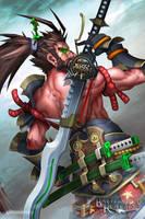 BRL: Dragon Warrior by dinmoney