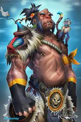 BRL: Monkey Clan Hero by dinmoney