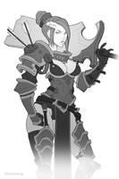 FA: Sword Instructor sketch by dinmoney