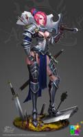 FA: Sword Instructor (full) by dinmoney