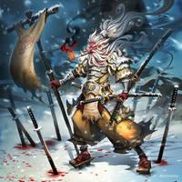 Luminous Echo: Yukino Saru by dinmoney
