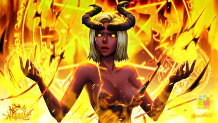 Cinder Fire by dinmoney