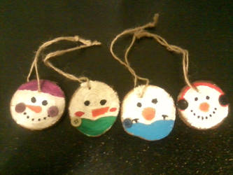 Christmas Ornaments by Hands-of-a-Pirate