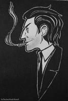 The spy, unmasked (a profile sketch) by XxTheSmittenKittenxX