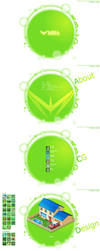 MiRa web V.2 design by silencemira