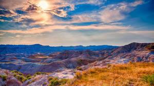Badlands Landscape 4K by jerry04